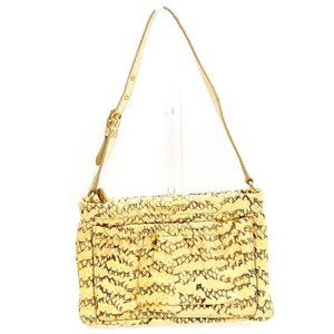 miumiu Shoulder bag Beige Brown Woman Authentic Used